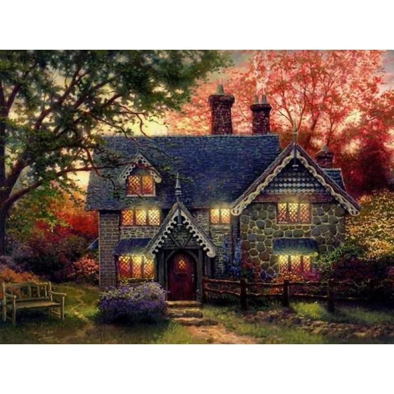 Gingerbread Cottage by Th...