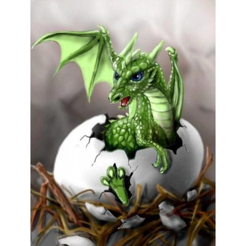 Dragon Hatching Diamond P...