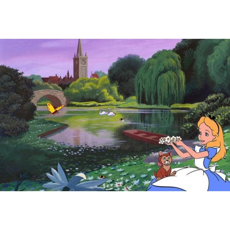 The setting of Alice...