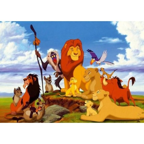 The Lion King from Disneyland