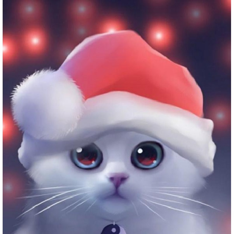 Cute Cat with Christ...