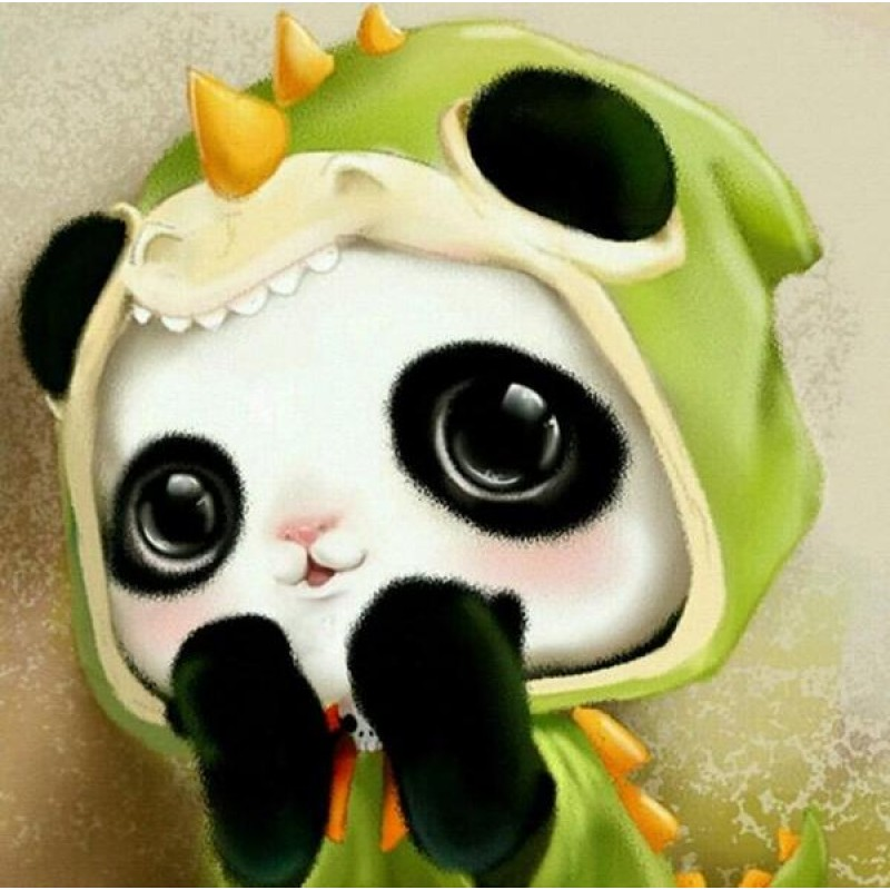 Baby Panda Cartoon D...