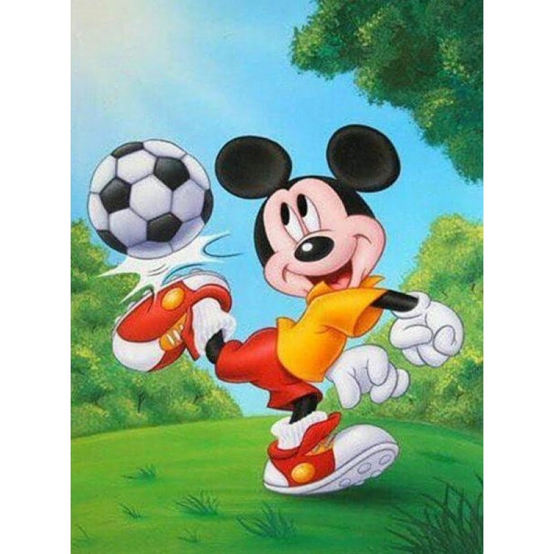 Micky Mouse Playing ...