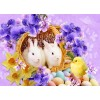 Easter Rabbits & Little Chick