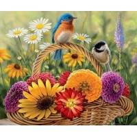 Sparrows & Flowers DI...